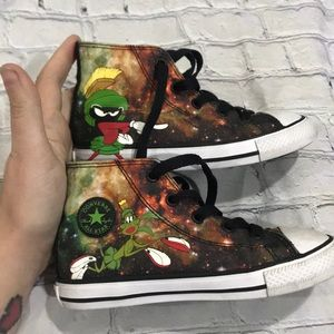 Converse toddler 10 looney tunes Marvin Martian
